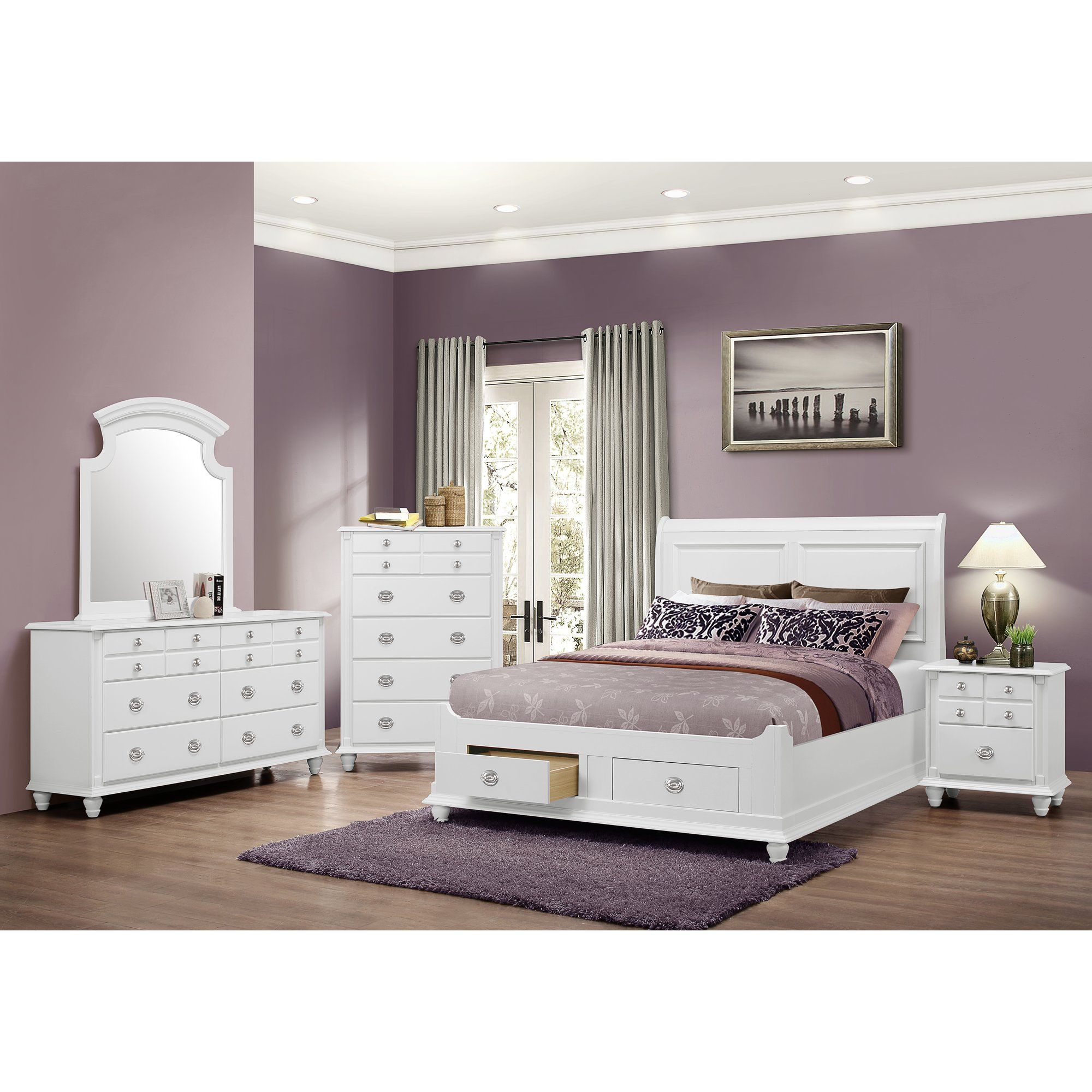 Daley Storage Panel Customizable Bedroom Set Bedroom