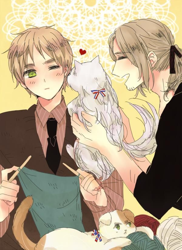 Hetalia France X England X Reader – Quotes of the Day