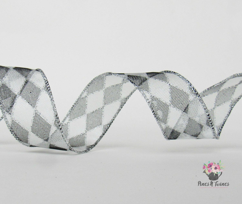 Craft Ribbon, Wired Ribbon, 30 Feet, 1.5\
