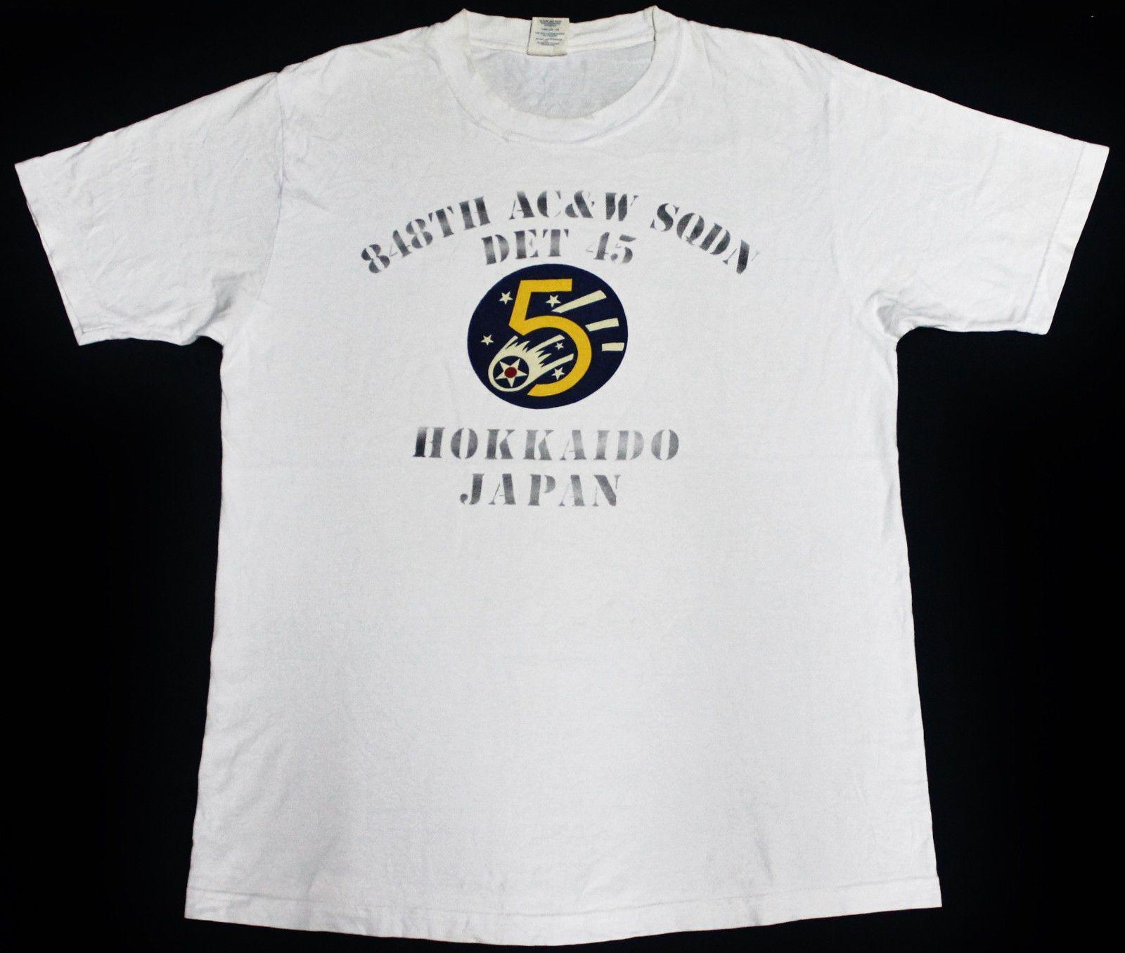 Black t shirt ebay - Buzz Rickson U S Air Force Hokkaido Japan Base Toyo Enterprise Co Mccoy T Shirt