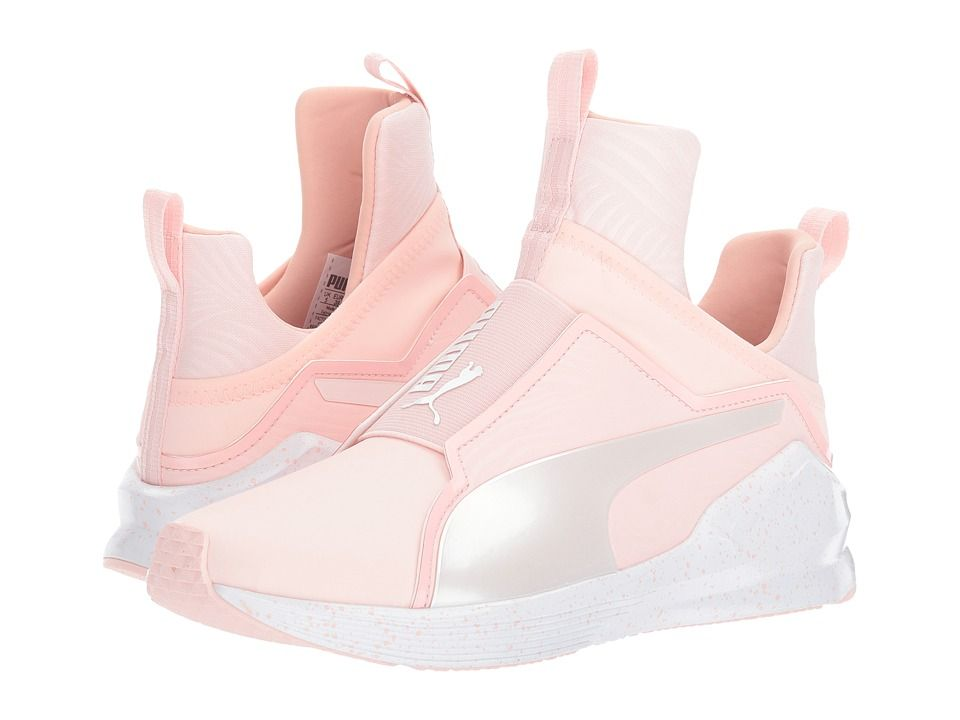 PUMA PUMA - FIERCE BLEACHED (VEILED ROSE/WHISPER WHITE) WOMEN'S SHOES. #
