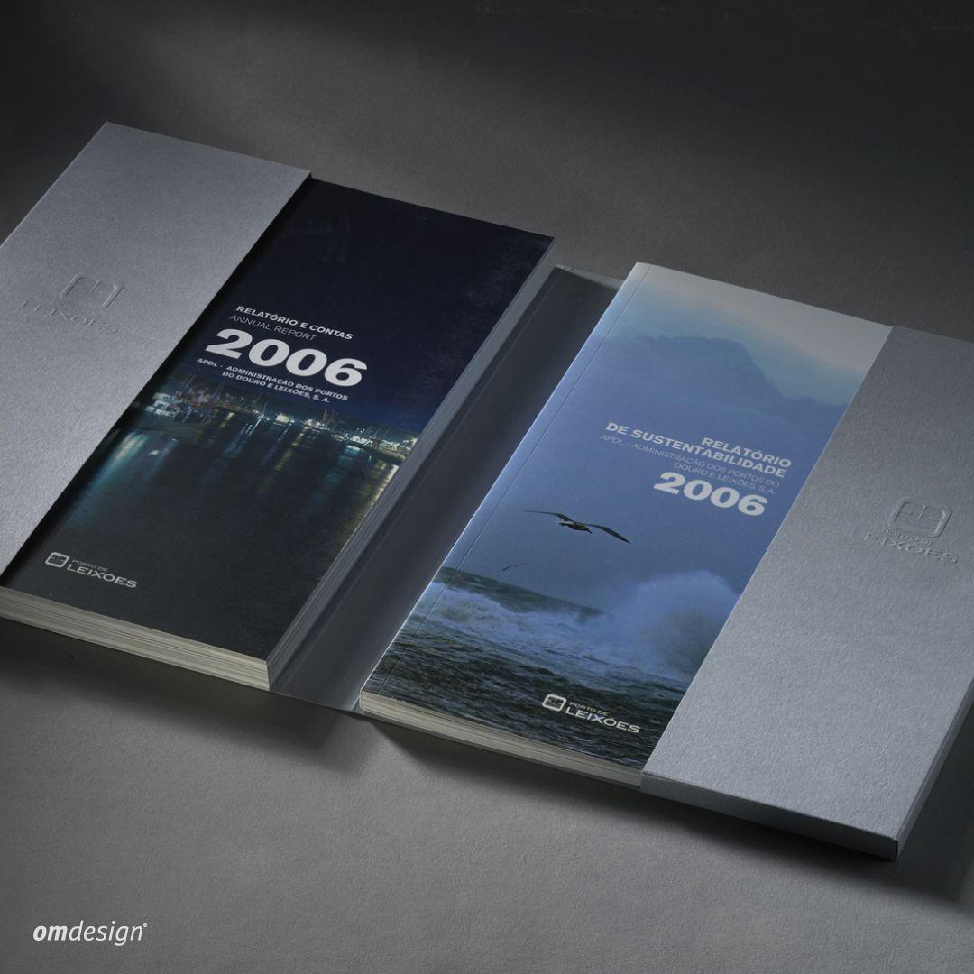Relatório & Contas e Relatório de Sustentabilidade Porto de Leixões (2007) - - -  Porto de Leixões' Annual Report and Sustainability Report #Omdesign #Design #Portugal #LeçadaPalmeira #Since1998 #AwardedAgency #DesignAwards #GraphicDesign #BookDesign #AnnualReport #R&C #SustainabilityReport #PortodeLeixoes #APDL #Matosinhos #Leça
