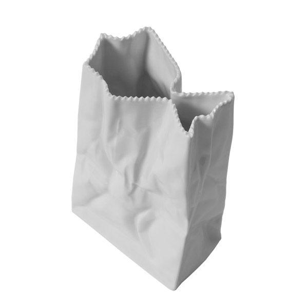 Paperbag vase.  Manufacturer: Rosenthal  Design: Tapio Wirkkala