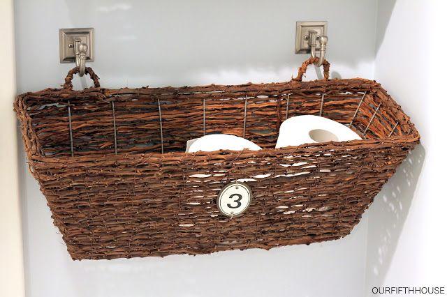 Window Box Bathroom Storage (perfect for a small bathroom)