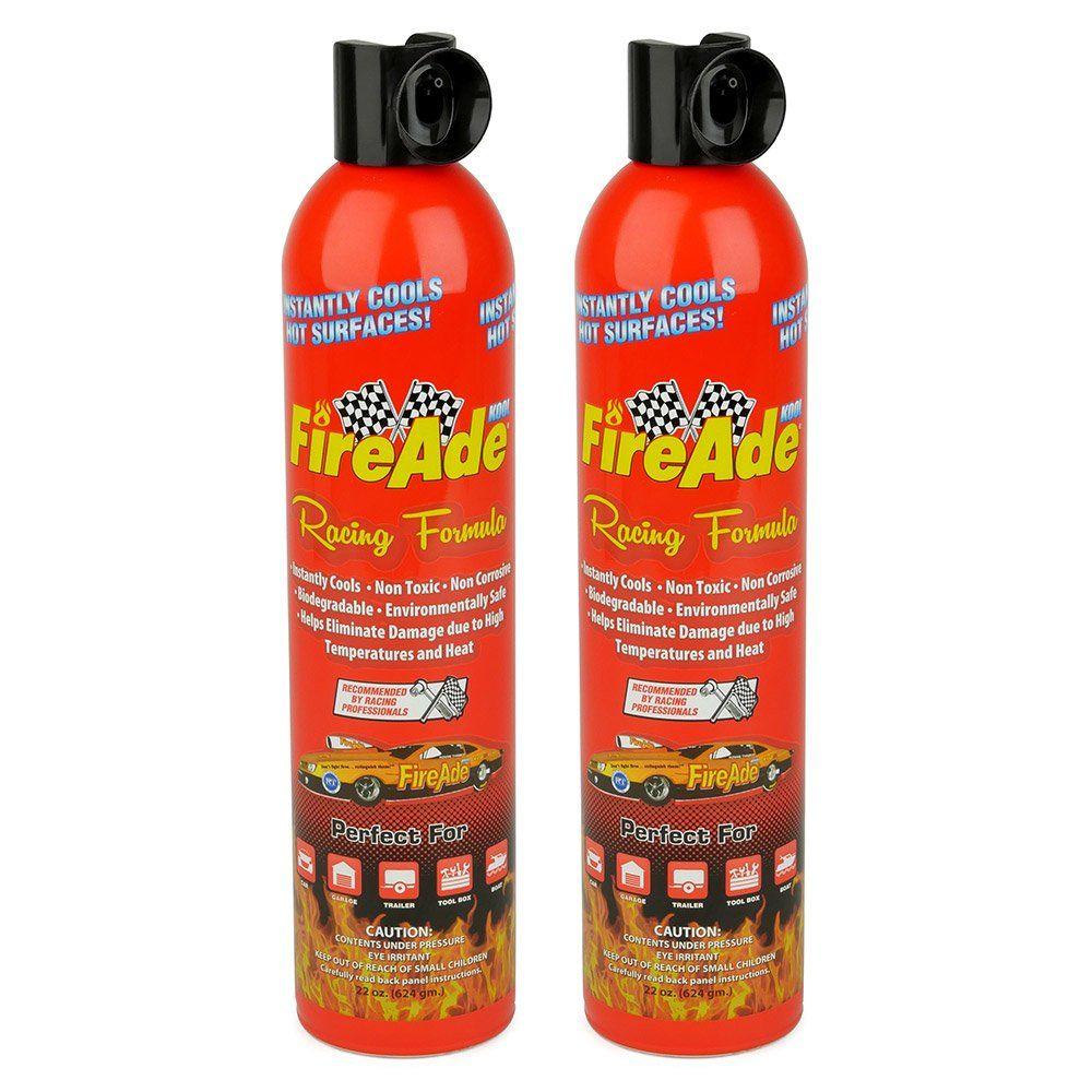 Fireade racing formula fire suppression unit liquid foam