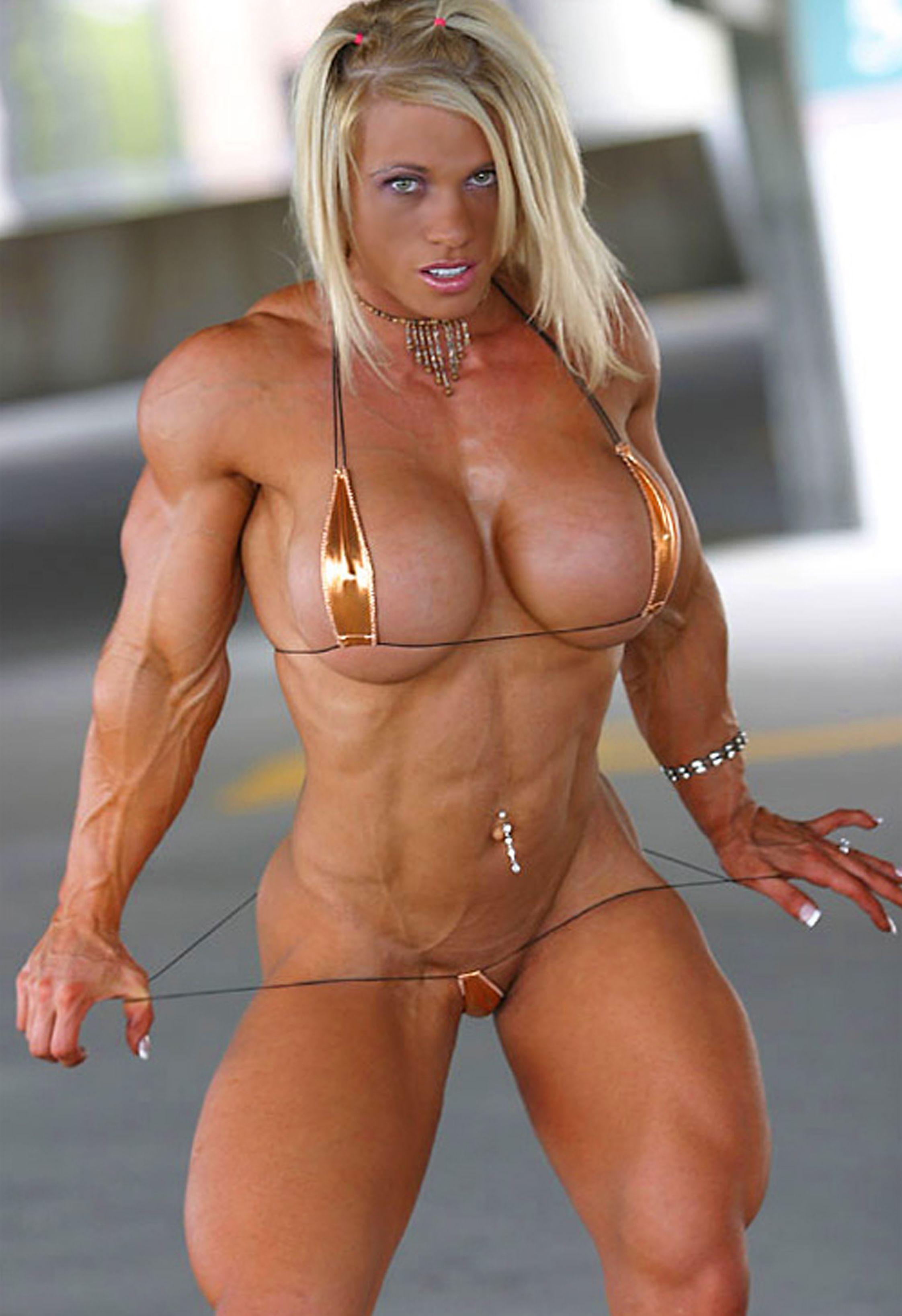 nake women body builders
