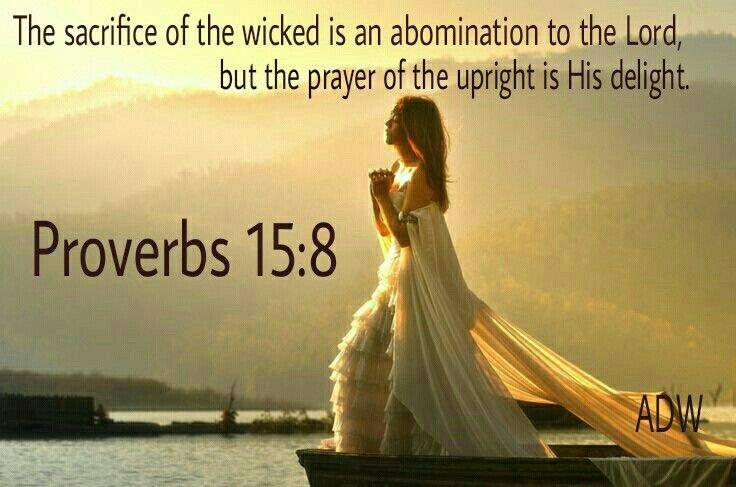 Proverbs 15:8