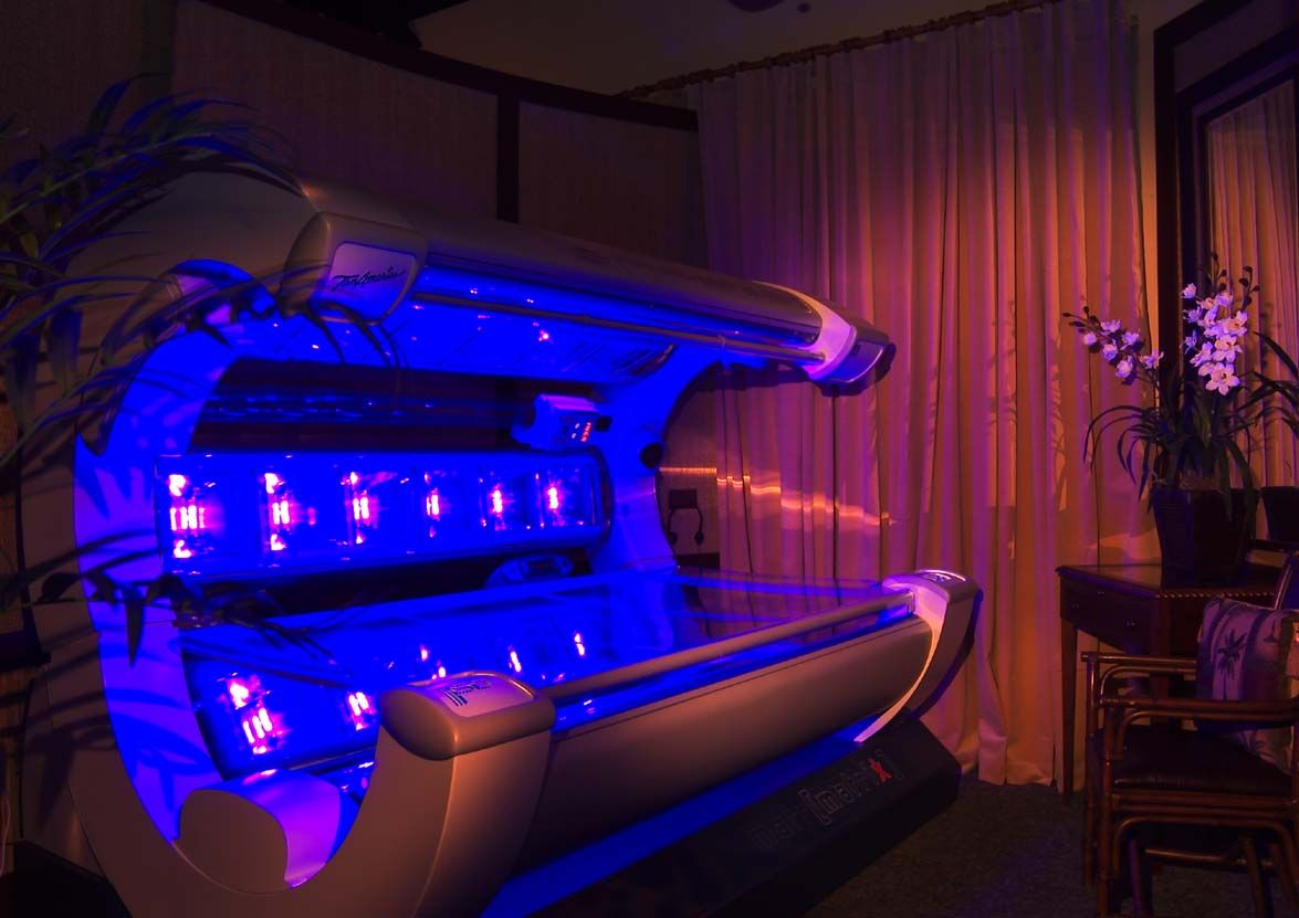 High Pressure Tanning Bed With Images Tanning Room Tanning