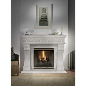 Historic Mantels President Series Churchill 52 In X 62 In Cast