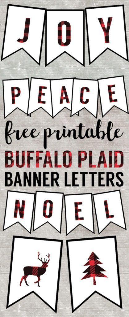 30+ Free buffalo plaid font inspirations