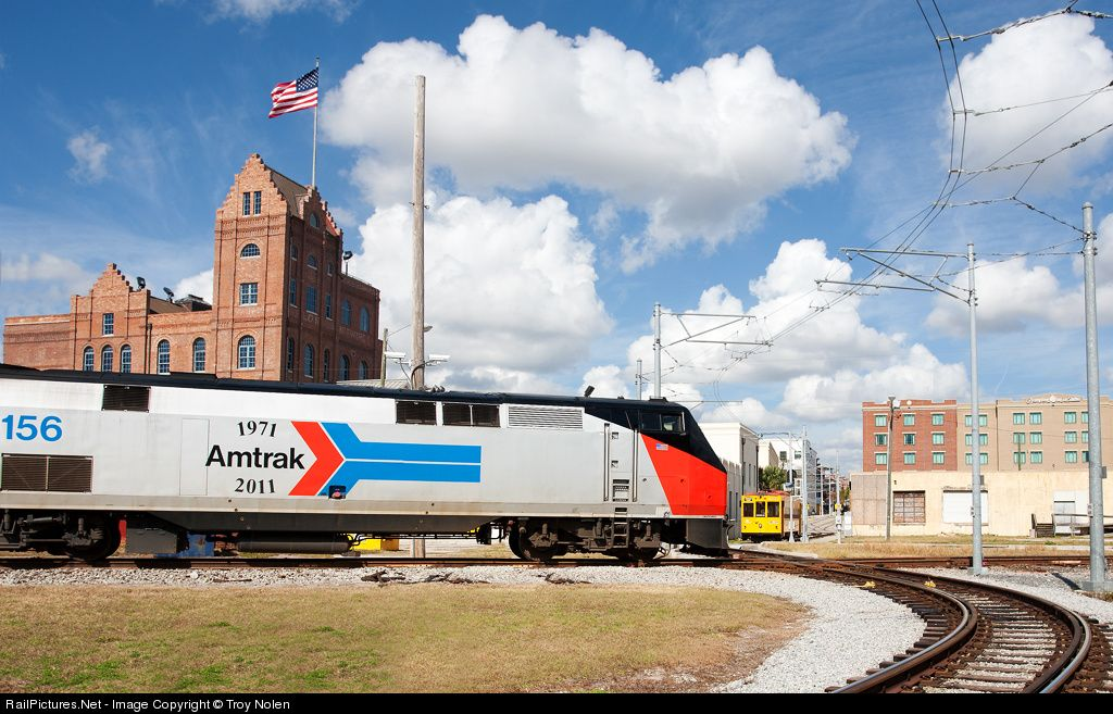 Photo AMTK 156 Amtrak GE P42DC at Tampa