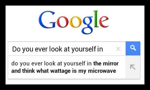 Do You Ever Look At Yourself In The Mirror And Think What Wattage