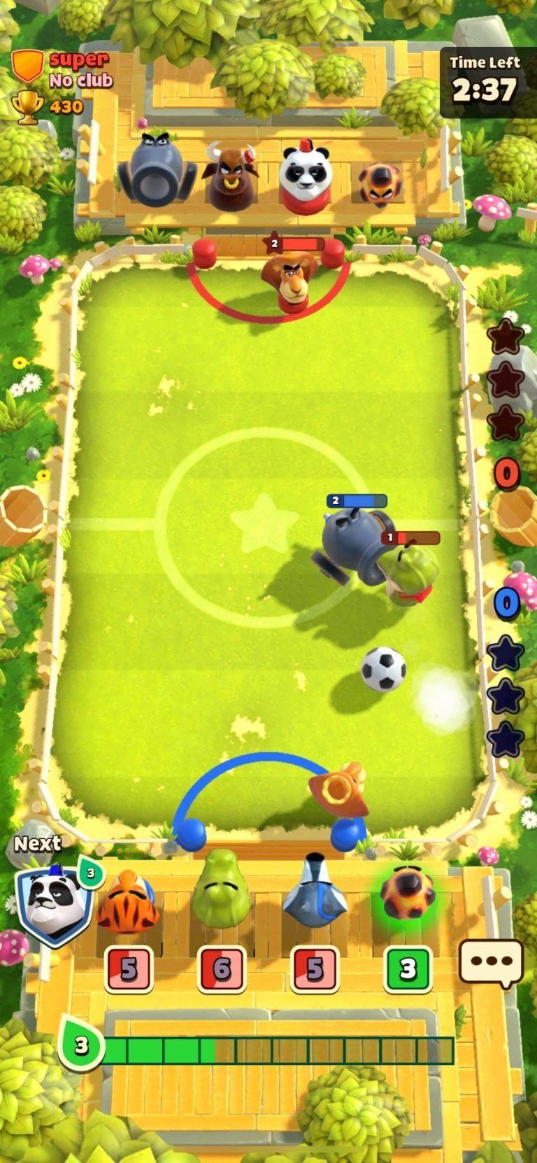 Futebol Rumble Stars Futebol multiplayer explosivo com