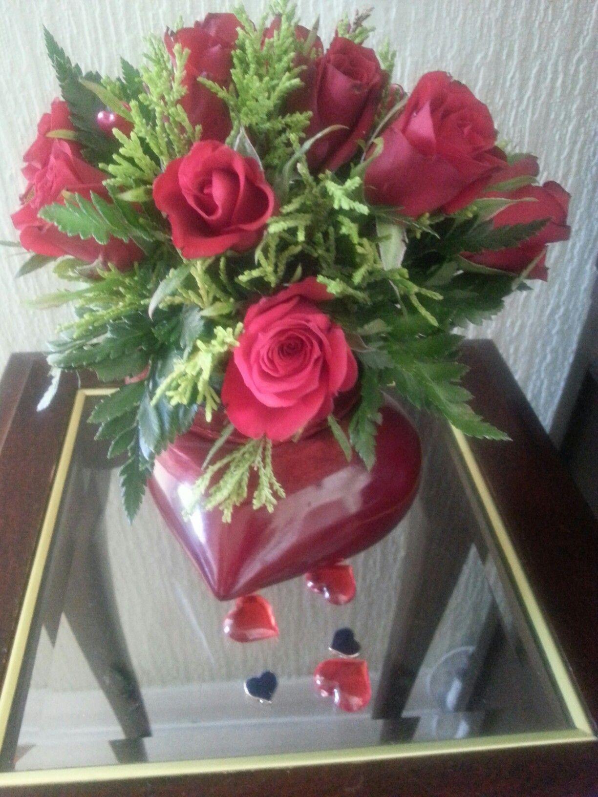 Valentines Feb 2017 Flower Arrangements Pinterest Flower