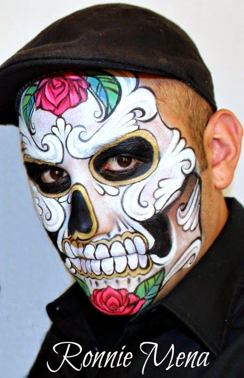 ronnie mena sugar skulls - Google Search