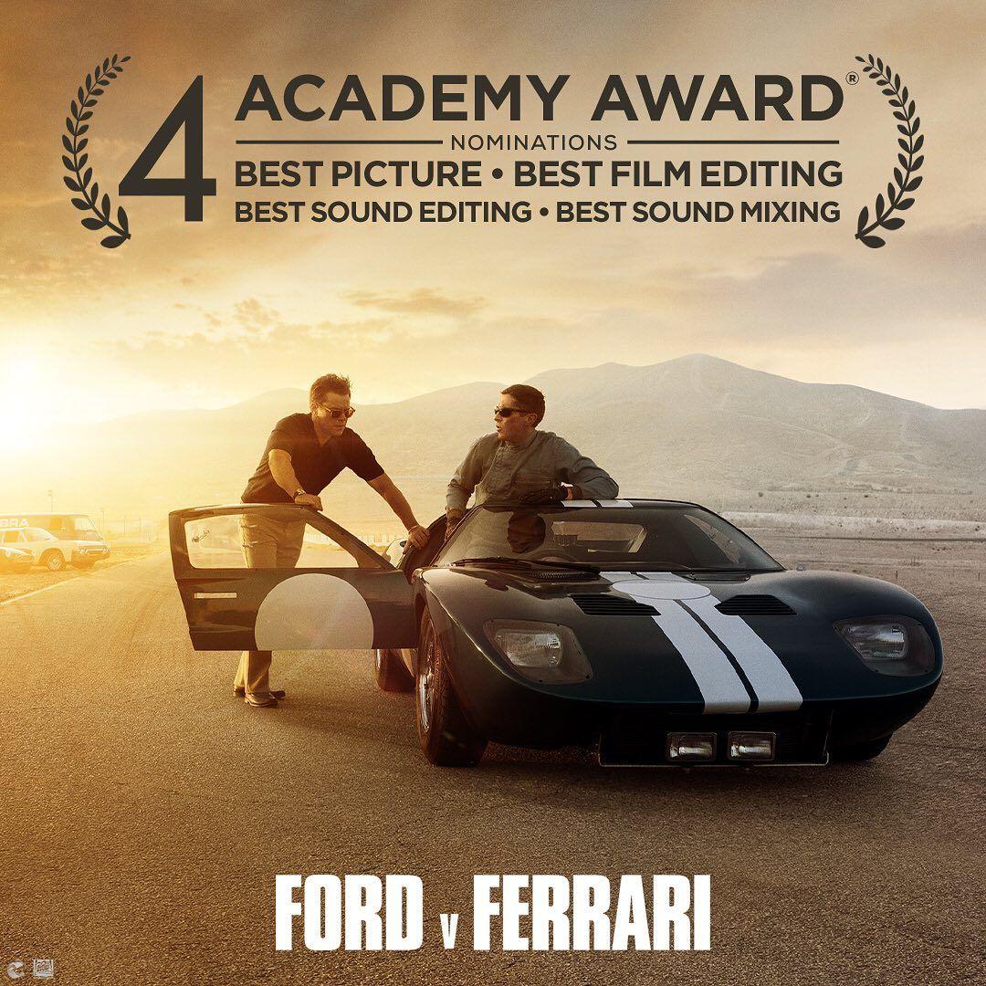 Ford V Ferrari On Instagram Congratulations To Fordvferrari For