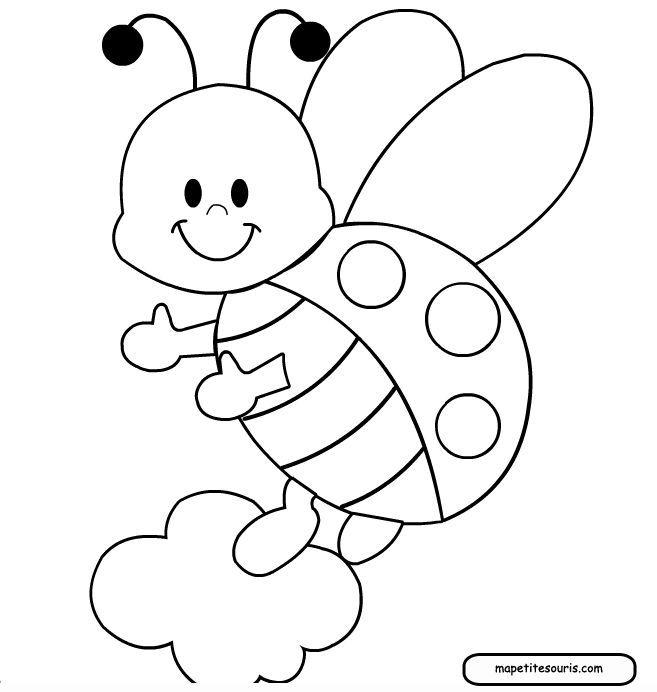 3b88dc66bb7d8828c39c145d85e1efbb Jpg 657 692 Bug Coloring Pages Ladybug Coloring Page Butterfly Coloring Page