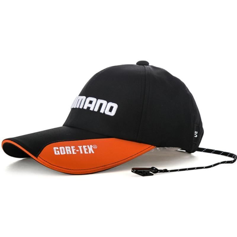 0c036d99f Details about Mens Shimano Daiwa Goretex UV Fishing Cap Hat Snapback ...
