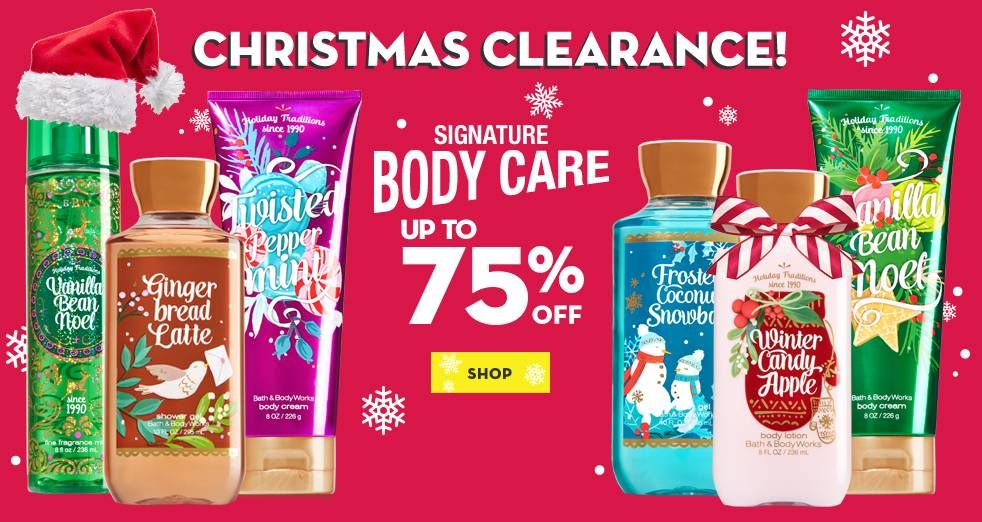 Bath and Body Works Semi Annual Sale has started on-line with $10 ...
