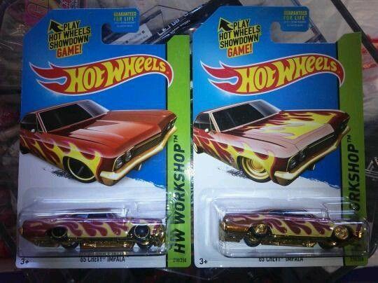 Super Treasure Hunt /'65 Chevy Impala w//case