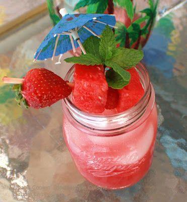 Watermelon Limoncello Cocktail #limoncellococktails