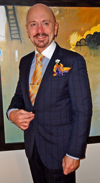 Hugo boss suit, Canali tie…