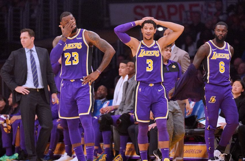 Los Angeles Lakers Josh Hart Believes Team Should Be Motivated By Criticism Los Angeles Lakers Nba Trades La Lakers