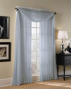 Sheer Voile Extra Long Panels Curtains Window Treatments