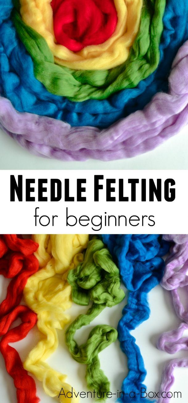 How to Start Needle Felting: Tools & Techniques for Beginngers #needlefelting