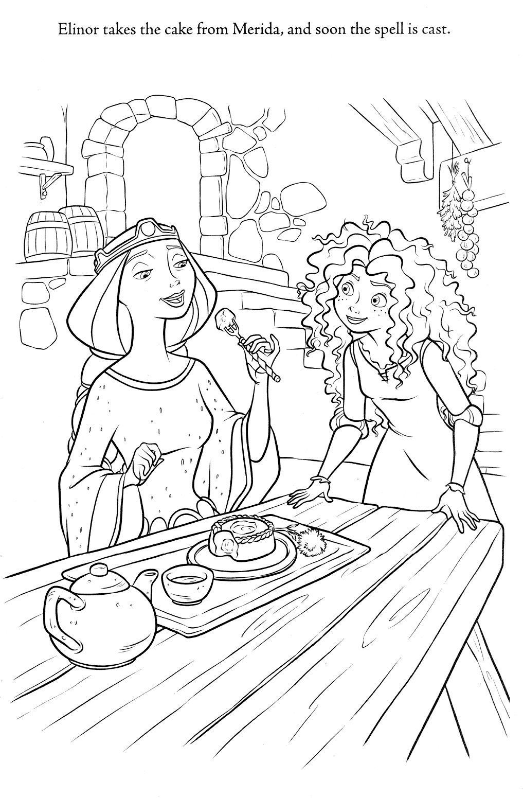 Brave Coloring Pages | Disney Coloring Pages | Pinterest | Färben ...