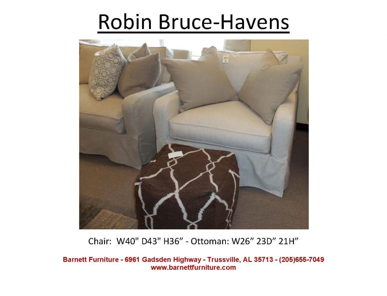 Robin Bruce Havens Slipcover Chair At Barnett Furniture In Trussville /  Birmingham, Alabama