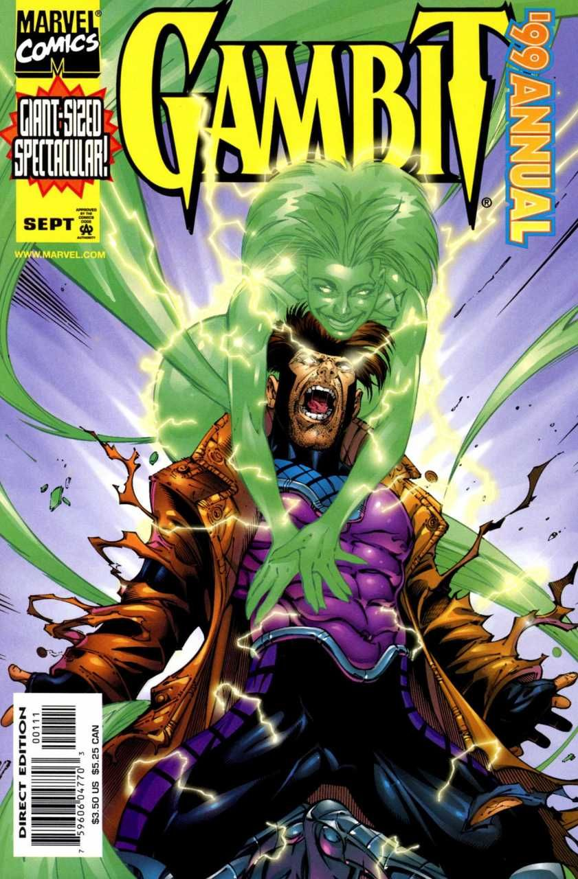 Gambit Annual 1999 by Walter McDaniel & Vince Russell