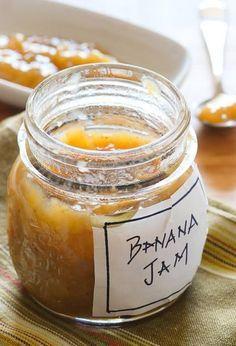 Banana Jam..an alternative to banana bread for ripe banana...gotta try this
