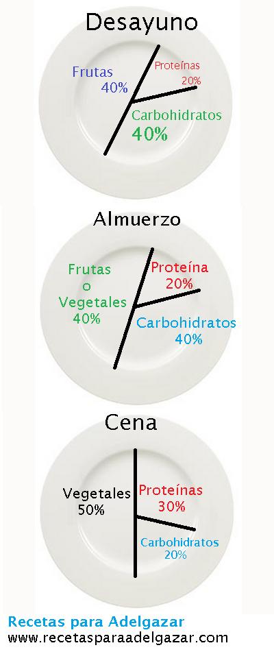 Porcentaje proteinas dieta para adelgazar