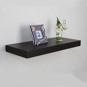 Ordered 24l X 10w X 2h Espresso Floating Shelf Shannon S Pick Floating Wall Shelves Shelves Wall Shelves