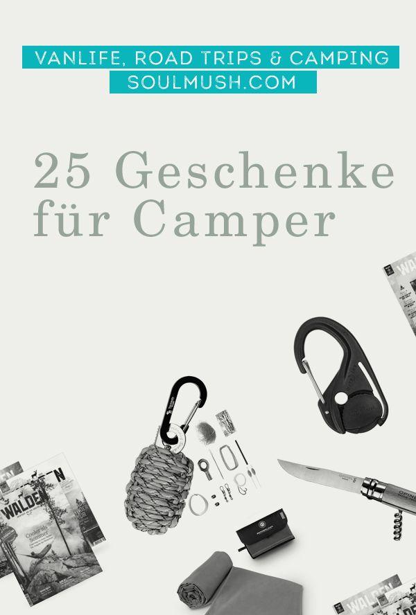 Geschenke für Camper 25 individuelle Geschenkideen   Reise Ideen von ...