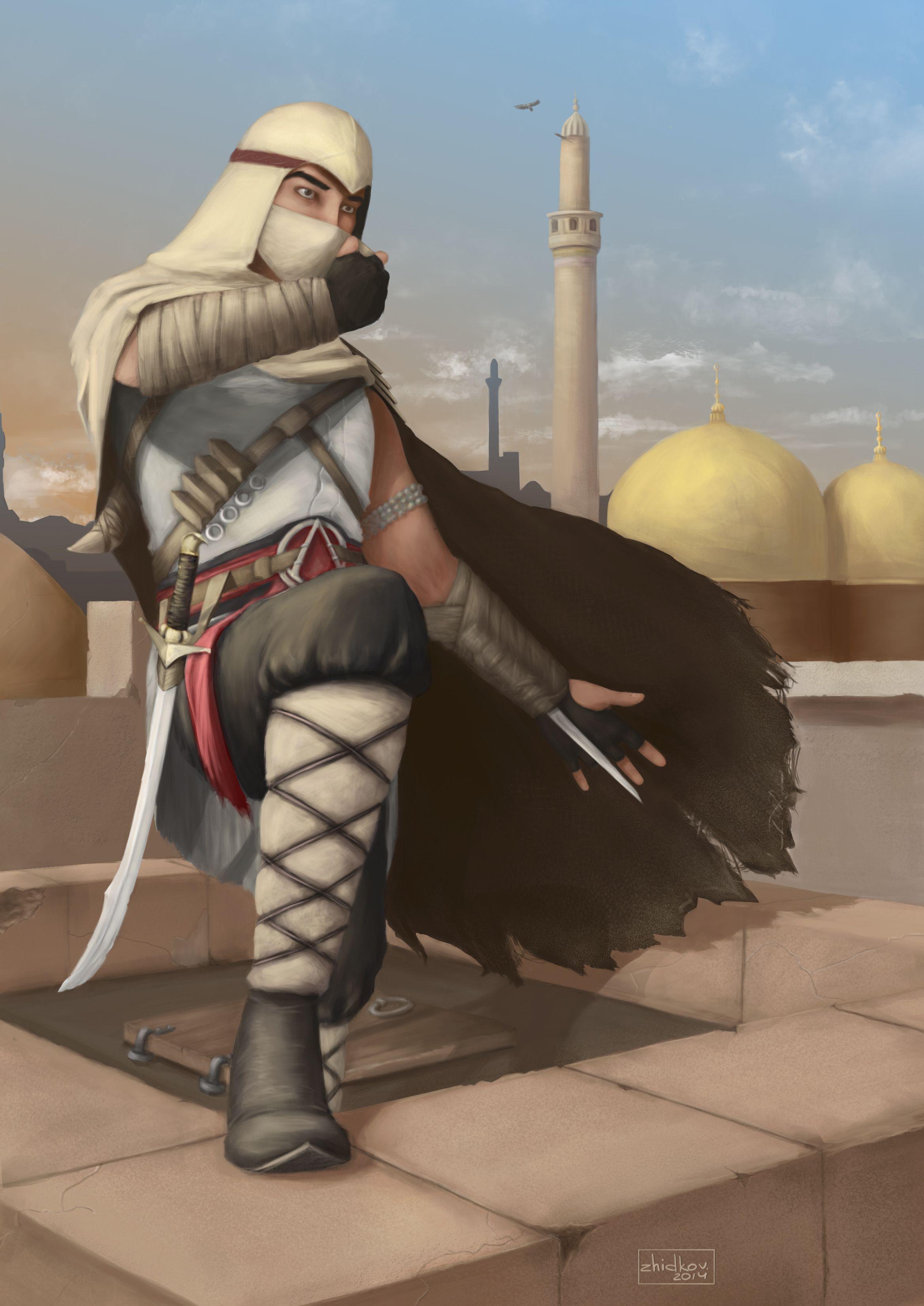 Arabic Assassin Assassin S Creed Assassins Creed Artwork Assassins Creed Art