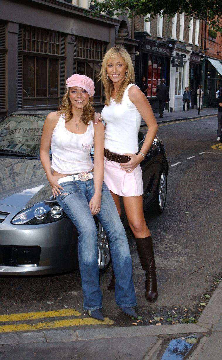 Liz McClarnon and Jenny Frost from Atomic Kitten at the