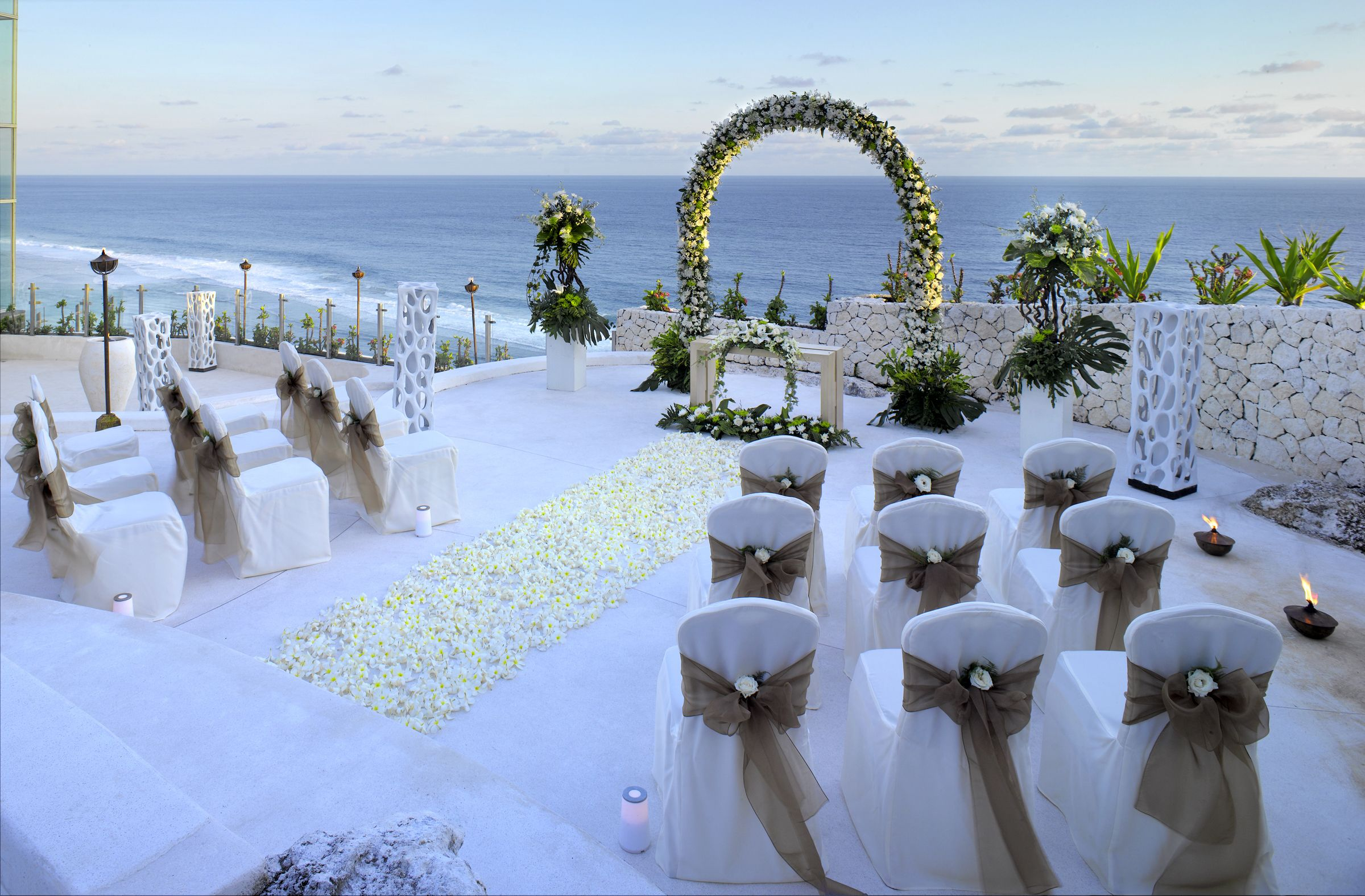 Bali Wedding Ceremony Set Up Inspiration