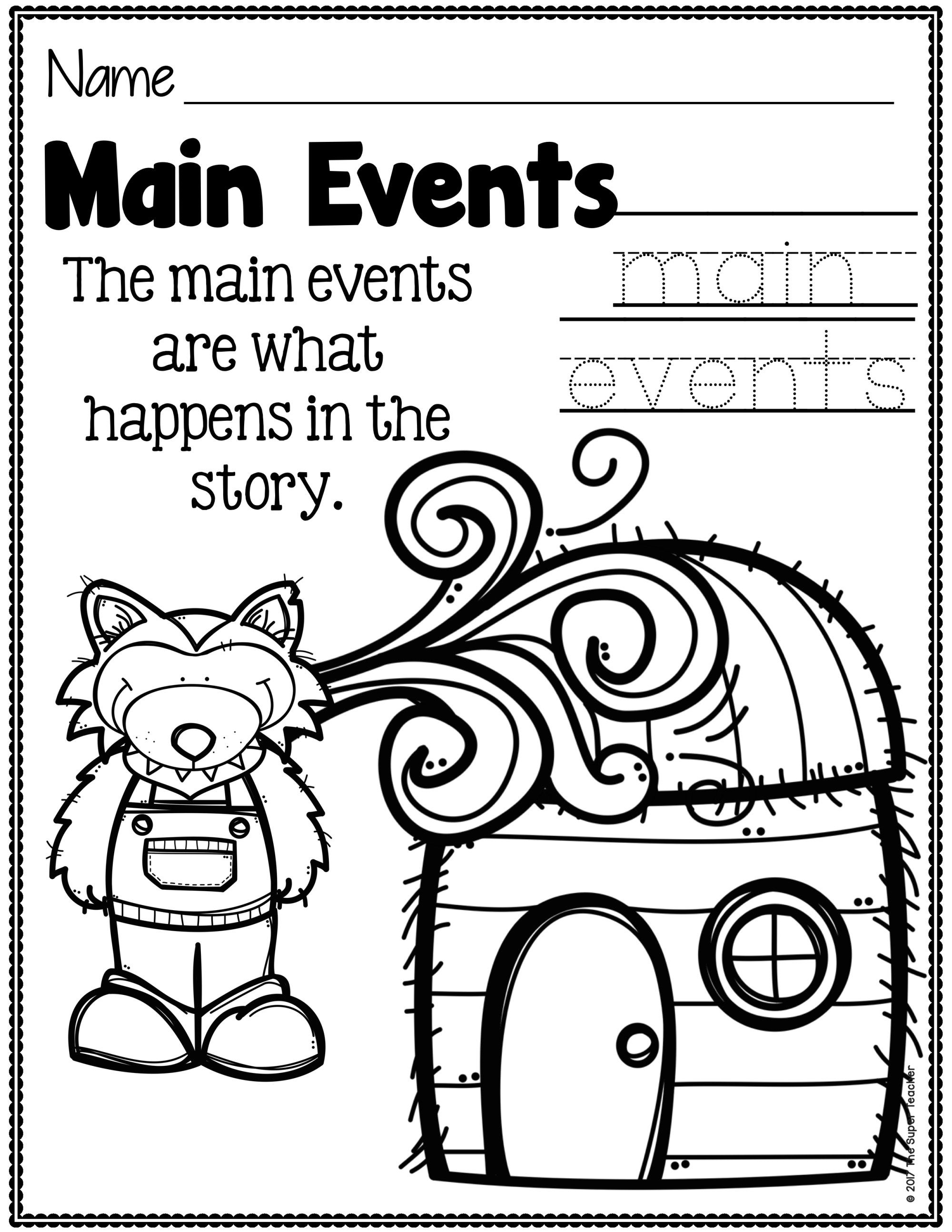 Simple Story Elements Made Practical And Fun Kindergarten Math Worksheets Free Kindergarten Math Worksheets Kindergarten Math Games