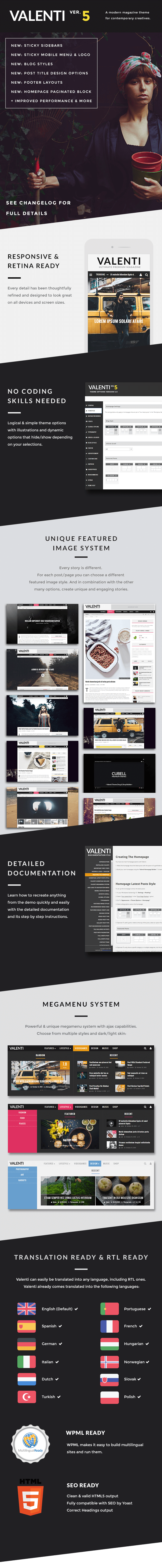 Valenti   WordPress HD Review Magazine News Theme   Wordpress     Logos