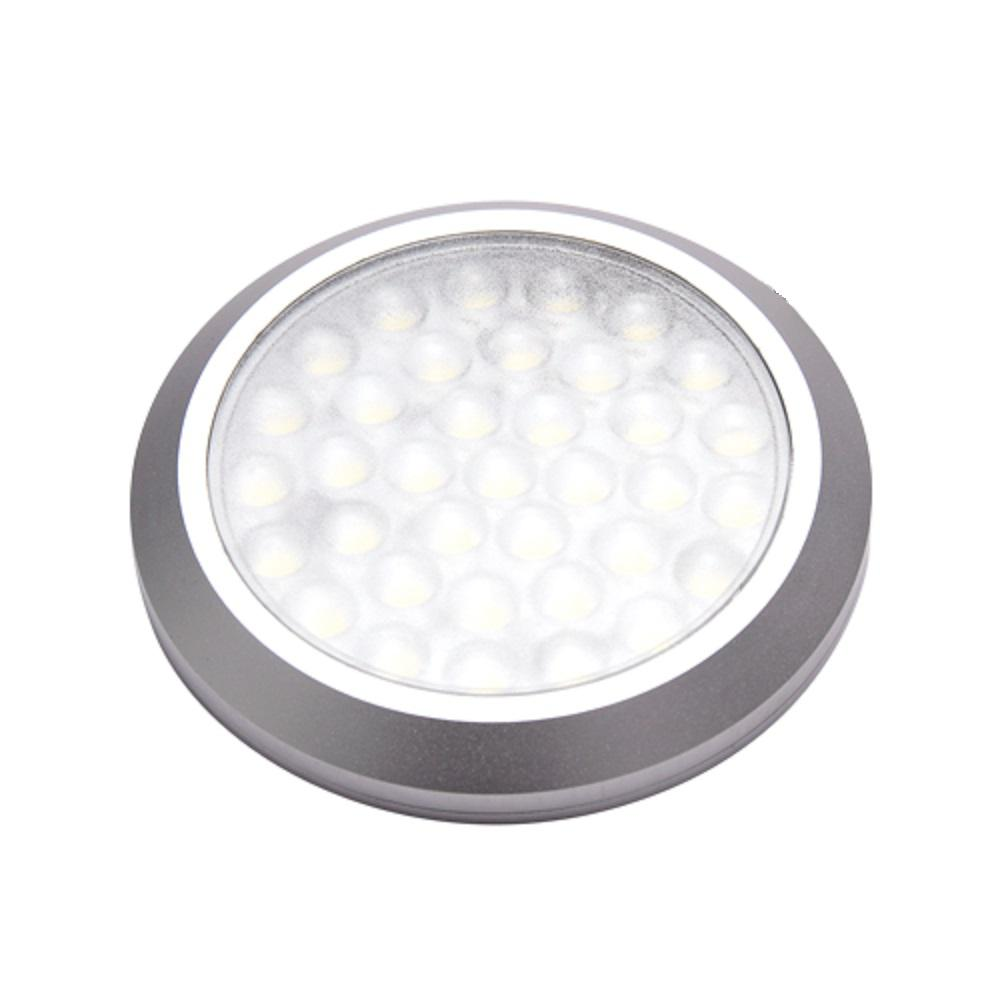 Brilliant Evolution Brrc135 Wireless Led Puck Light 6 Pack With Remote Control Operates On 3 Aa Batteries Led Puck Lights Puck Lights Under Counter Lighting