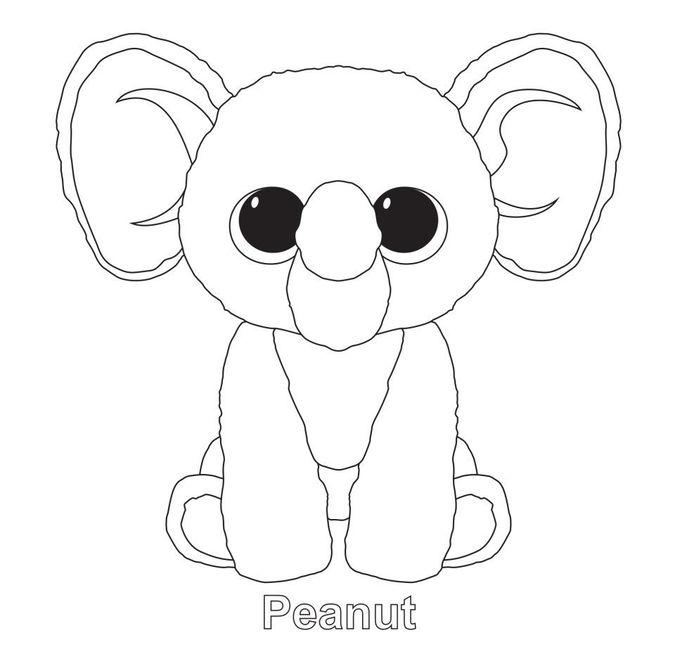 - Beanie Boos Coloring Pages Beanie Boo Birthdays, Pictures Of