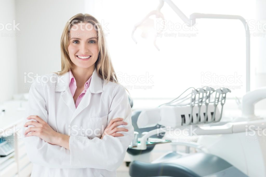Horizontal color front view image of beautiful medical