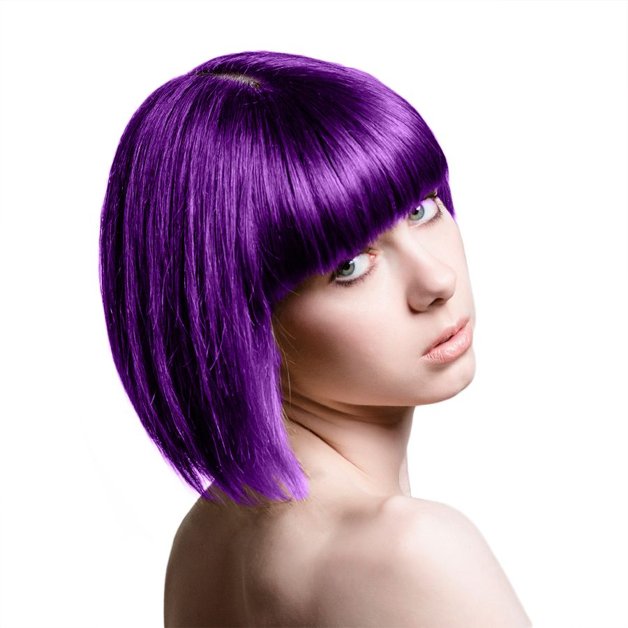 Pin On Crazy Hair Colors