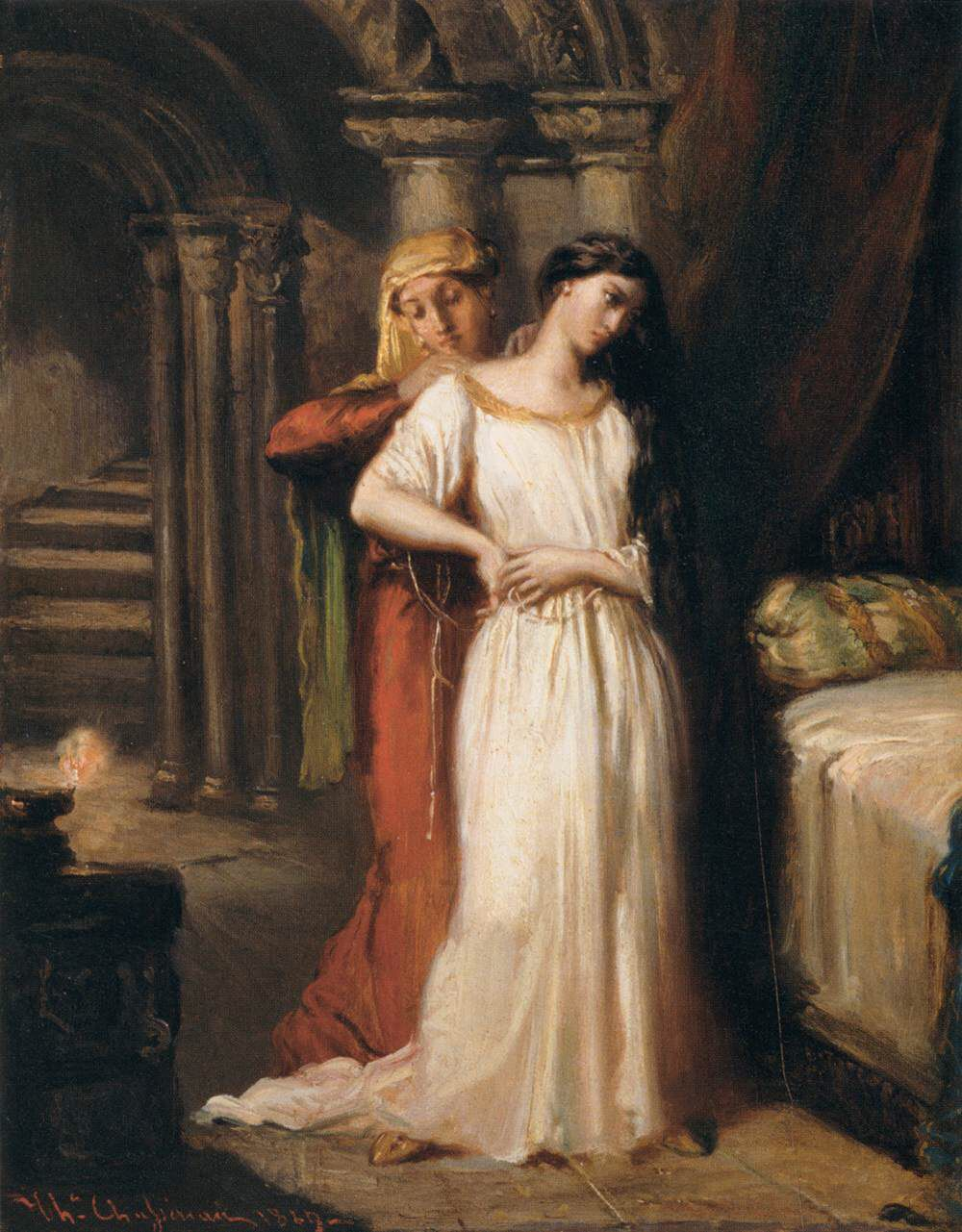 othello emilia desdemona relationship As the handkerchief, the 'ocular proof' (33360) of infidelity, passes from othello to desdemona to emilia to iago to cassio to the courtesan bianca, it links the three couples together to highlight what they have in common.