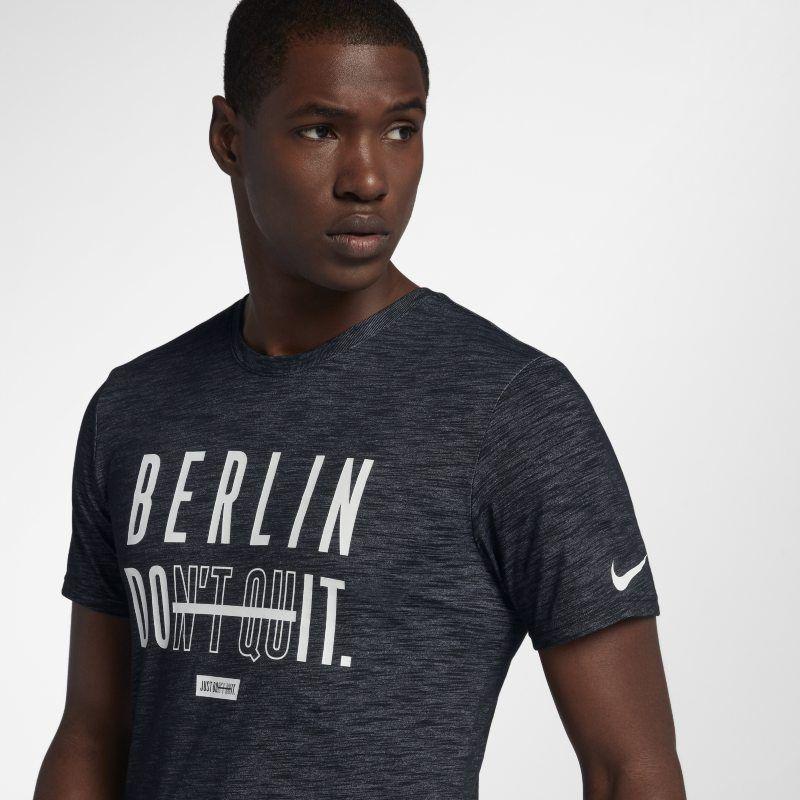 Nike Dri FIT Berlin T Shirt Black