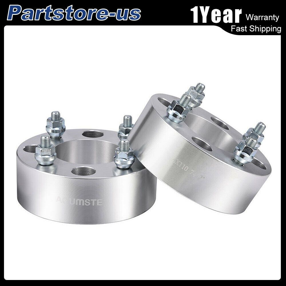 "4 USA 4x156 to 4x110 Wheel Adapters//Spacers 1.5/"" Thick for Polaris /& Yamaha ATV"