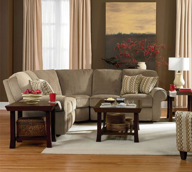 Living Room Furniture Configurations: Lane Megan 343 Sectional This Sectional Is First Choice