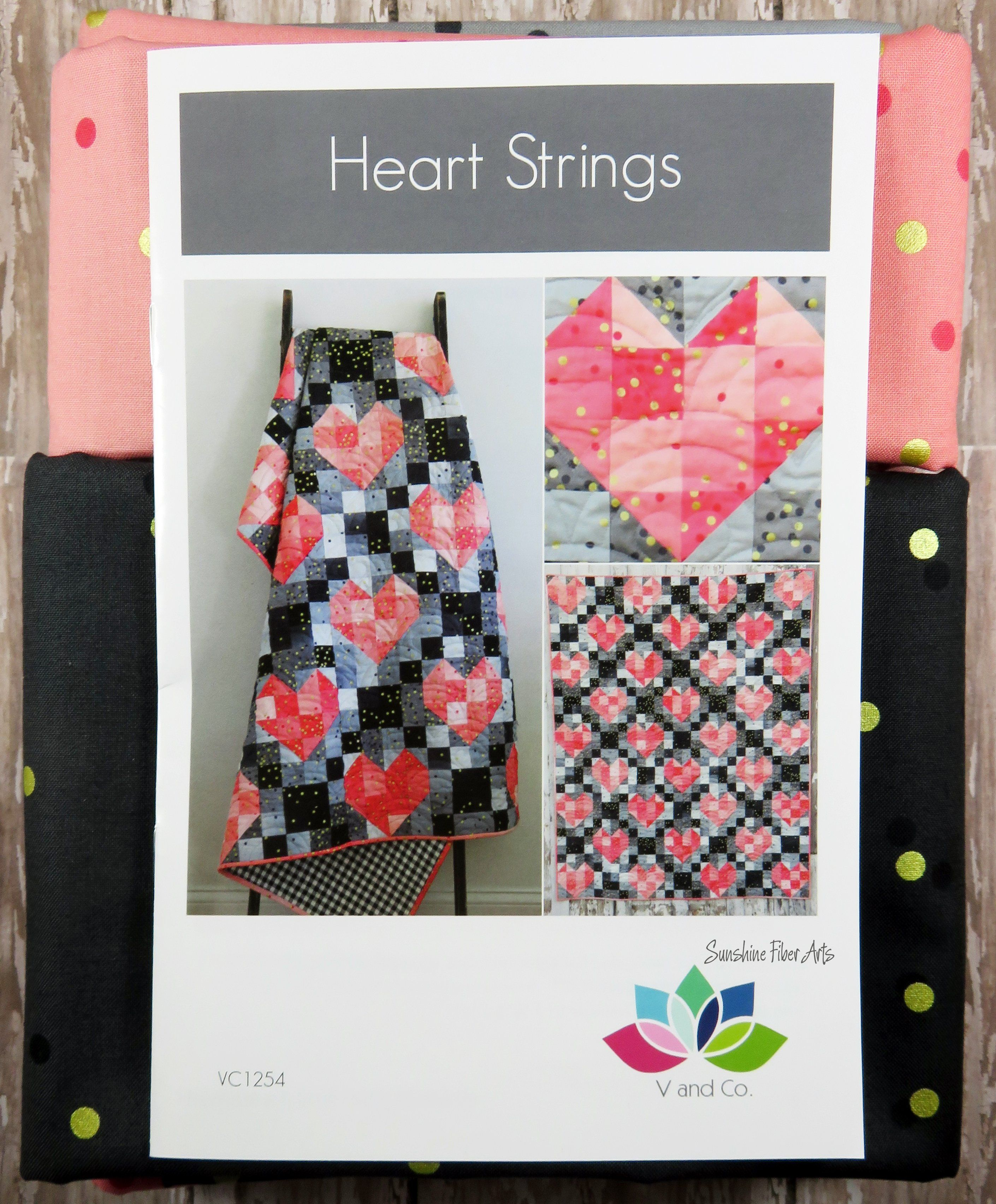 V and Co Criss Cross Applesauce Quilt Pattern ONLY by Vanessa Christenson using MODA Ombre Fabrics VC1232